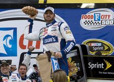 NASCAR : Ville 500 de nourriture du 21 mars Images libres de droits