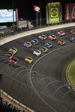 NASCAR - Virage 3 sous l'attention   image stock