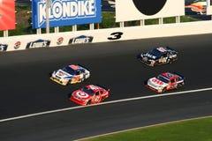 NASCAR - Vuelta 3 en Lowes Foto de archivo libre de regalías