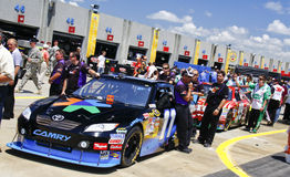 NASCAR - Waiting In Line for Inspection Stock Photos