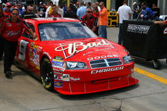NASCAR - winner Kahne's #9 Bud Dodge Stock Images