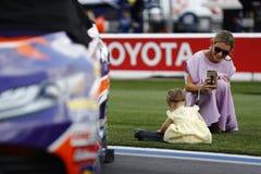 NASCAR: Września 30 bank amerykański ROVAL 400 obraz stock