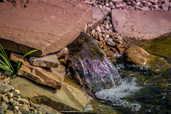 Nascente de água Fotos de Stock Royalty Free
