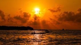 NASCER DE O SOL Foto de Stock