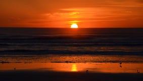 NASCER DE O SOL St Augustine, FL, EUA Fotos de Stock Royalty Free