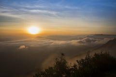 Nascer do sol Ásia Fotos de Stock Royalty Free