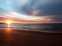 Nascer do sol Fotografia de Stock