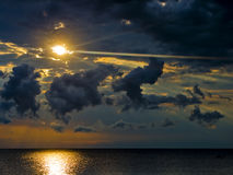 Nascer do sol 2 de Malawi Fotografia de Stock