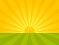 Nascer do sol. Fotos de Stock