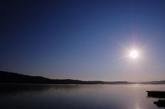 Nascer do sol Imagem de Stock Royalty Free