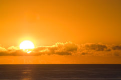 Nascer do sol Fotos de Stock