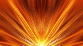 Nascer do sol abstrato ilustração royalty free