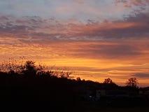 Nascer do sol do amanhecer imagens de stock royalty free