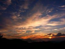Nascer do sol apalaches Imagens de Stock