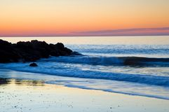 Nascer do sol atlântico colorido Foto de Stock