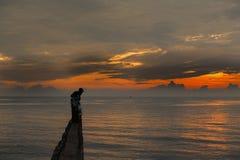 Nascer do sol bonito Imagens de Stock