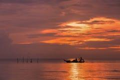 Nascer do sol bonito Imagem de Stock