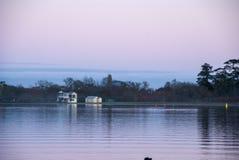 Nascer do sol cor-de-rosa Foto de Stock