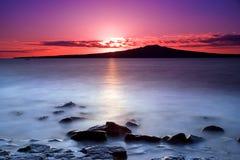 Nascer do sol cor-de-rosa foto de stock royalty free