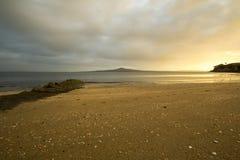Nascer do sol da baía da missão Foto de Stock Royalty Free