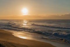 Nascer do sol da rocha de sal Imagem de Stock