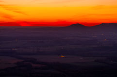 Nascer do sol de Arkansas Foto de Stock