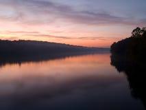 Nascer do sol de Delaware Fotografia de Stock