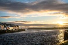 Nascer do sol de Galway fotos de stock royalty free