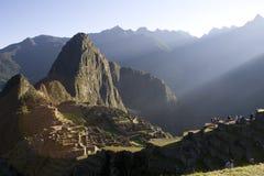 Nascer do sol de Machu Picchu Imagem de Stock Royalty Free