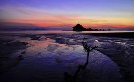 nascer do sol de malaysia Fotos de Stock Royalty Free