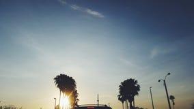 Nascer do sol de Miami Imagem de Stock