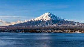 Nascer do sol de Monte Fuji video estoque