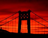 Nascer do sol de Pittsburgh Imagem de Stock Royalty Free