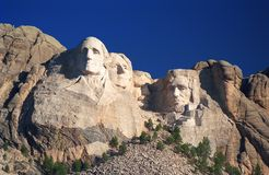 Nascer do sol de Rushmore da montagem Fotografia de Stock Royalty Free