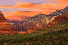 Nascer do sol de Sedona o Arizona Imagem de Stock Royalty Free