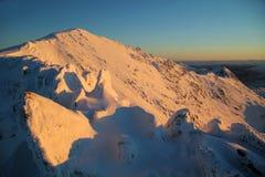 Nascer do sol de Snowdon Imagem de Stock Royalty Free