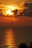 Nascer do sol de Terengganu Fotografia de Stock Royalty Free