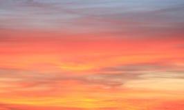 Nascer do sol do Arizona Fotografia de Stock