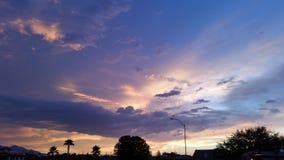 Nascer do sol do Arizona Imagem de Stock Royalty Free
