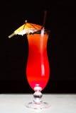 Nascer do sol do cocktail em uma tabela clara Foto de Stock Royalty Free