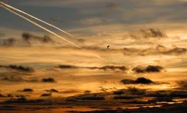 Nascer do sol do condado da porta Foto de Stock Royalty Free