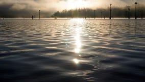 Nascer do sol do som de Puget Foto de Stock Royalty Free