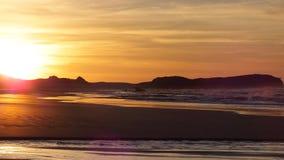 Nascer do sol em 5am Foto de Stock Royalty Free