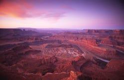 Nascer do sol em Canyonlands Imagem de Stock