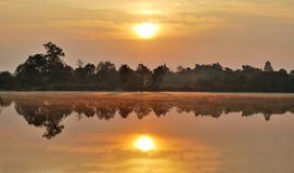 Nascer do sol em Chiangmai Imagem de Stock Royalty Free