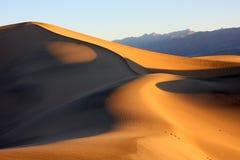 Nascer do sol em Death Valley Imagens de Stock