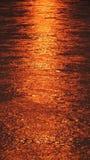 Nascer do sol em dos Reis de Angra Foto de Stock