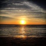 Nascer do sol em Egipto fotografia de stock