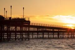 Nascer do sol em Essex Foto de Stock