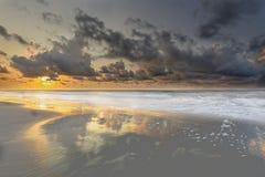 Nascer do sol em Hilton Head Island imagens de stock royalty free